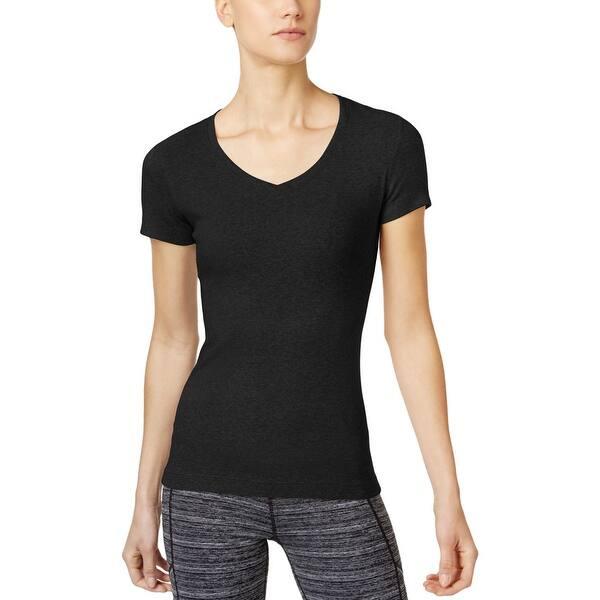 1286edaa57e1d7 Shop Calvin Klein Performance Womens T-Shirt Stretch Yoga - Free ...
