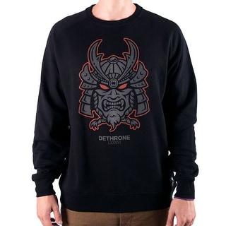 Dethrone No Master Crew Sweatshirt - Black