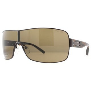 Tommy Hilfiger TH 1008/S U0J Brown/Havanna Unisex Shield Sunglasses - Brown - 99mm-1mm-125mm