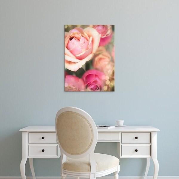 Easy Art Prints Sonja Quintero's 'Rosie Pink II' Premium Canvas Art