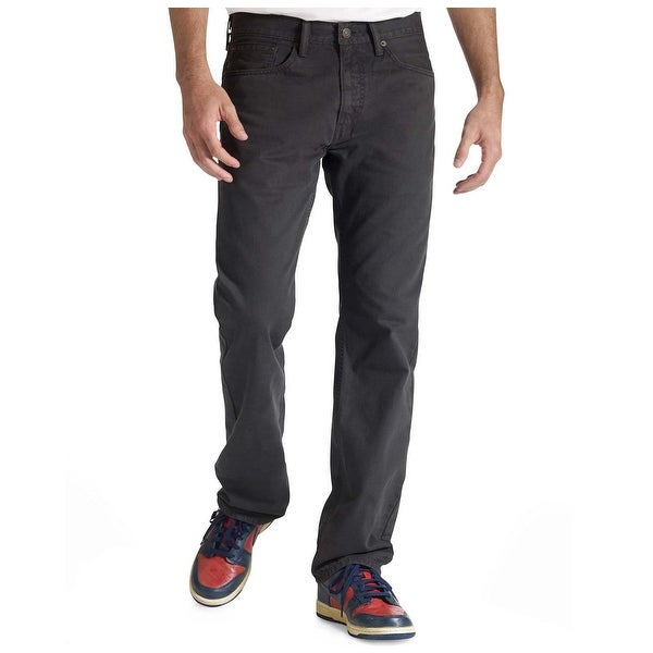 6452676b9e7 Shop Levi's 505 Regular Fit Graphite Grey Straight Leg Jeans 29 x 30 - Free  Shipping On Orders Over $45 - Overstock - 19549629