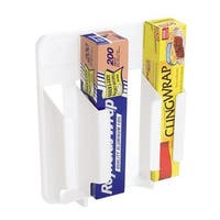 Rubbermaid Home White Wrap'n Bag Holder FG2310RDWHT Unit: EACH