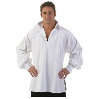 Men's White Renaissance Shirt