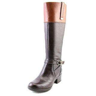 Bandolino Baya Round Toe Leather Knee High Boot