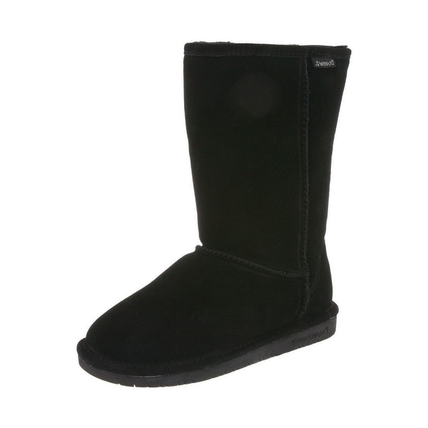 Bearpaw Boots Womens Emma Pull On Comfortable Suede Wool