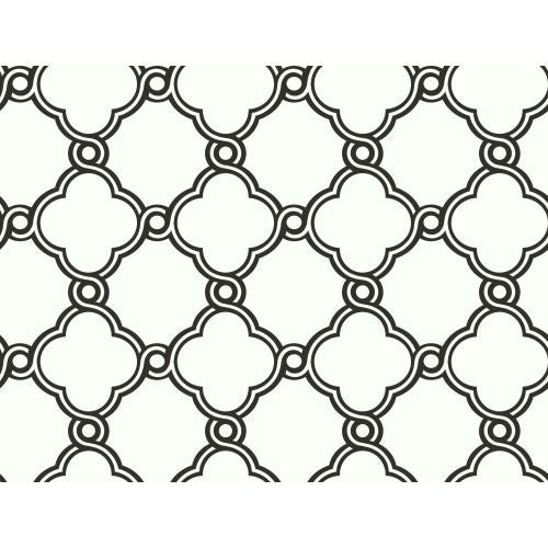York Wallcoverings AP7480 Black And White Book Open Trellis Wallpaper   N/A    Free Shipping Today   Overstock.com   24062531