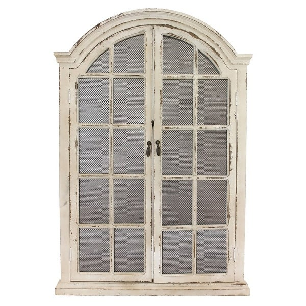 Aspire Home Accents 1322 Emily Window Wall Mirror - N/A