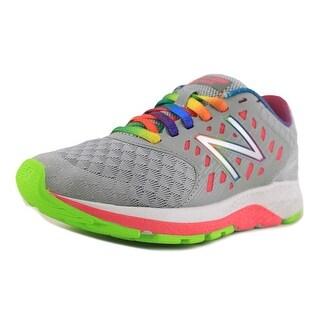 New Balance KJURG Round Toe Synthetic Running Shoe