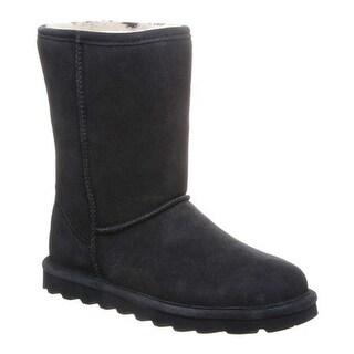 Bearpaw Women's Elle Short Boot Navy Suede