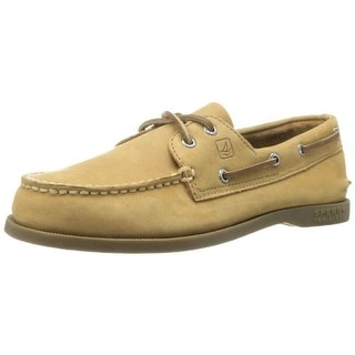 Sperry Boys Authentic Original Leather Boat Shoes - 7