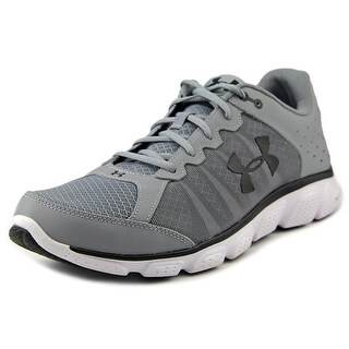 Under Armour Micro G Assert 6 Men Round Toe Synthetic Gray Running Shoe