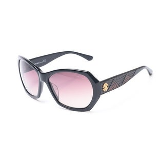 Roberto Cavalli Women's Abelia Sunglasses Black - Small
