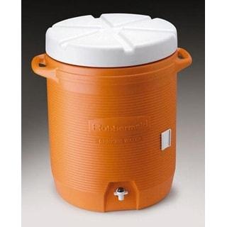 Rubbermaid 1610-01-11 Orange Industrial Water Cooler 10 Gallon