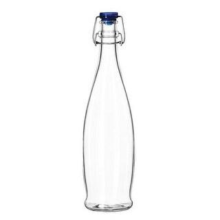 Libbey Glassware - 13150020 - 33 7/8 oz Water Bottle w/Wire Bail Lid