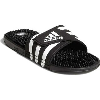 adidas adissage Black/White