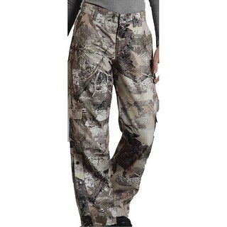 Roper Western Pants Womens Relaxed Fit Brown Camo