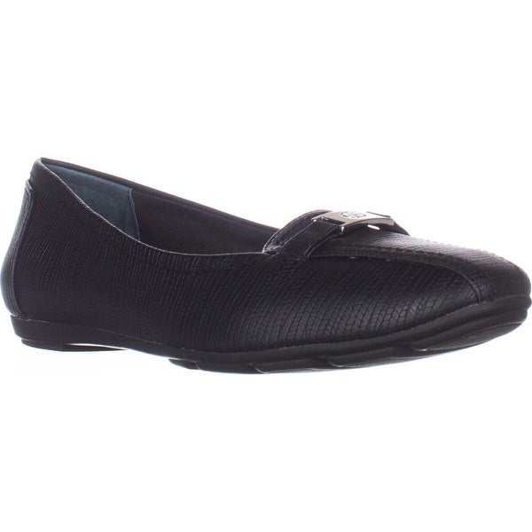 GB35 Jileese Casual Loafer Flats, Black