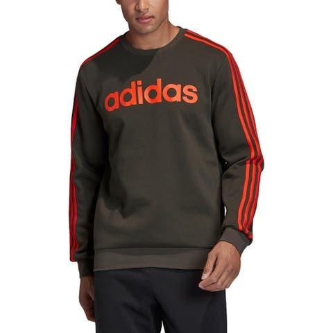 Adidas Mens Sweatshirt Fitness Activewear - Legend Earth/Active