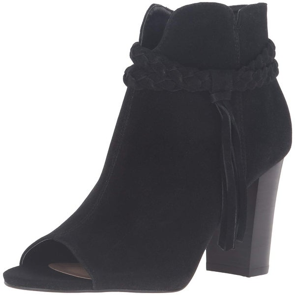 XOXO Womens BELINA Open Toe Ankle Fashion Boots