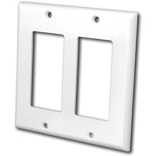 Link to 2 Gang Decor Wall Plate White Similar Items in Computer Accessories