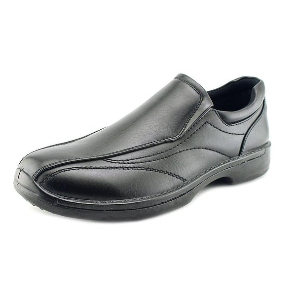 Deer Stags Sphere Men  Round Toe Leather  Loafer