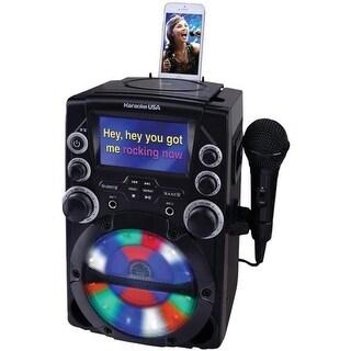 Karaoke Usa GQ740 4.3 in. Color TFT Screen CDG Karaoke System - Black