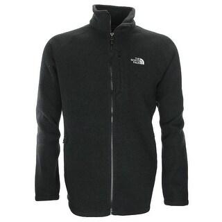 The North Face Men Holata Full Zip Sweater Basic Jacket Black