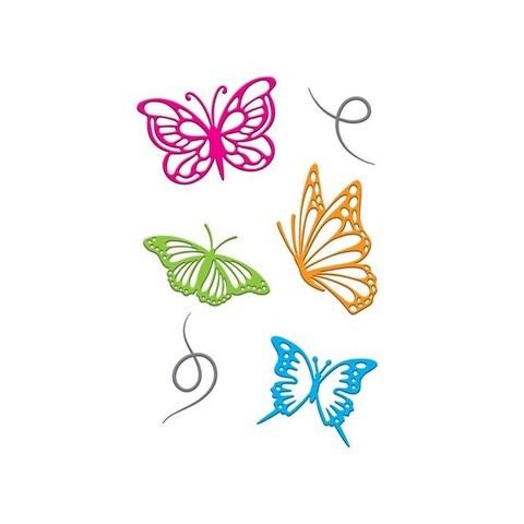 Little B Cutting Die Butterflies