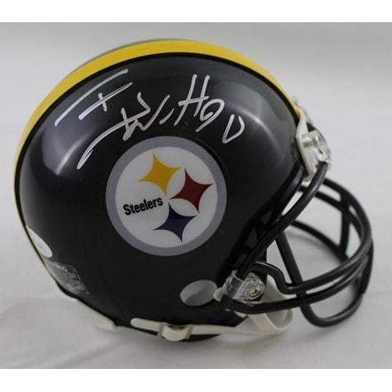 51e5aa26b Shop TJ Watt Autographed Pittsburgh Steelers Riddell Mini Helmet Silver JSA  - Free Shipping Today - Overstock - 19547410