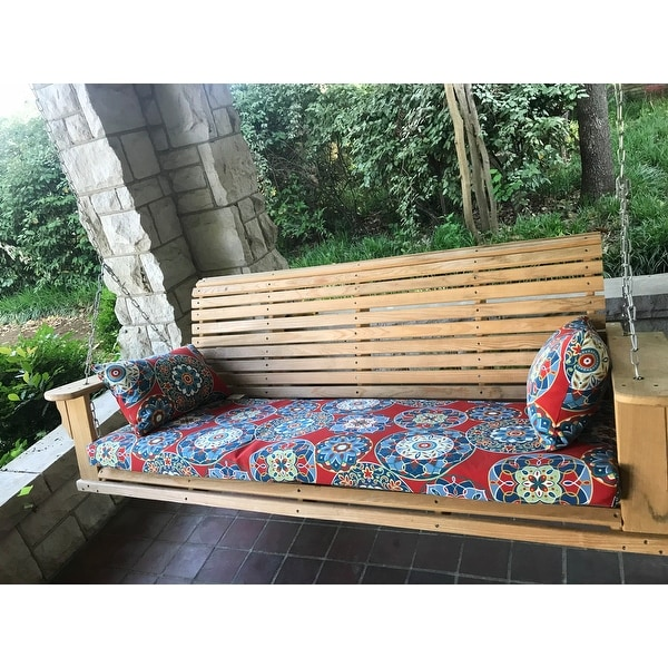 Shop Blazing Needles 60 Inch All Weather Bench Cushion 60 X 19