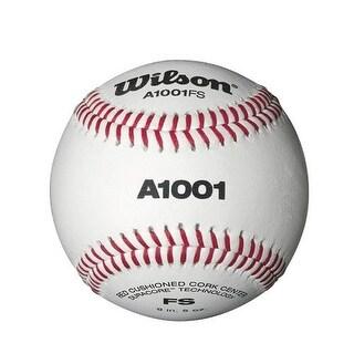 Wilson A1001 One Dozen Flat Seam Baseballs