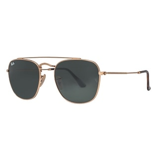Ray Ban RB3557 001 54mm Gold/Classic Green G-15 Caravan Square Sunglasses - Gold - 54mm-20mm-145mm