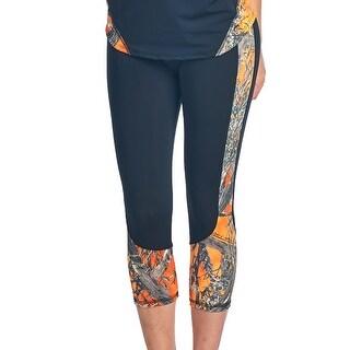 Women's Camo Capri Leggings Authentic True Timber Pants Made in USA
