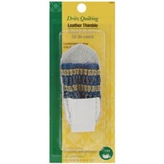 One Size Fits All - Dritz Quilting Leather Thimble