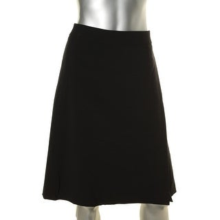 Nine West Womens One-Slit Fit Flare Skirt