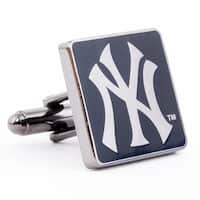 New York Yankees Black Series Cufflinks - navy