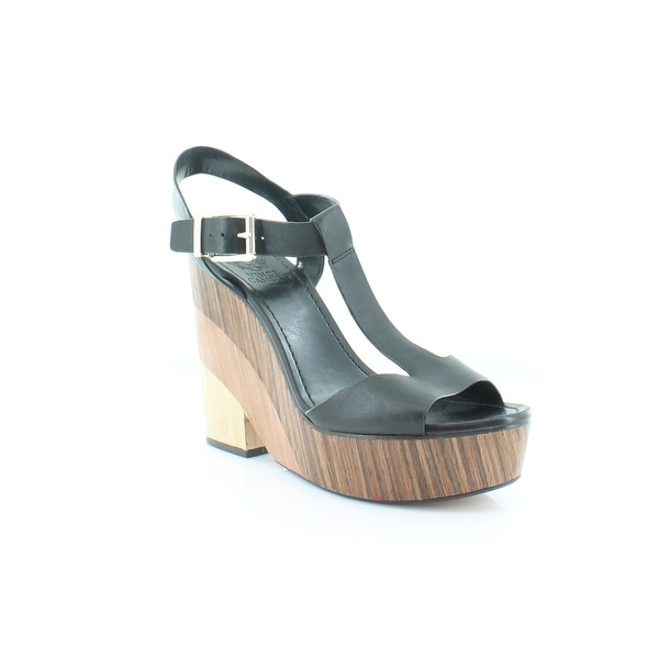 Vince Camuto Oriana Women's Sandals & Flip Flops Black - 10