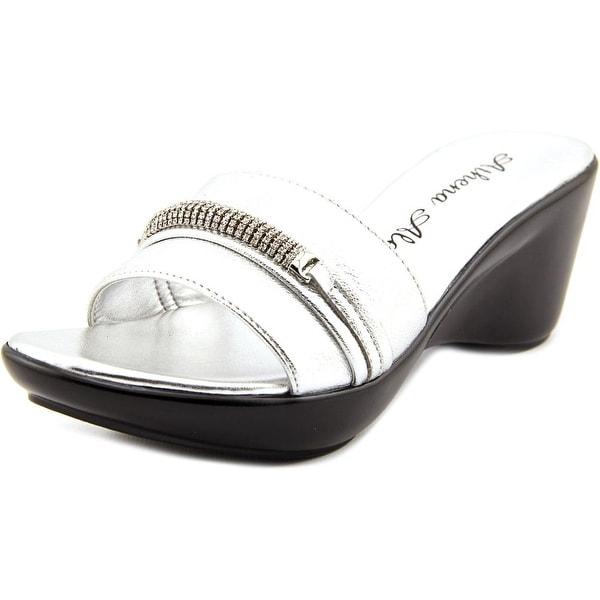 Athena Alexander Maiden Open Toe Synthetic Slides Sandal