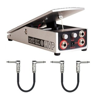 Ernie Ball P06182 MVP Most Valuable Pedal Plus 2 Free Patch Cables