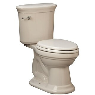 "Mirabelle MIRBR200A Boca Raton 1.28 GPF Toilet Tank Only with 12"" Rough In - Left Hand Trip Lever"