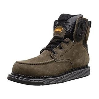 Magnum Mens Stockton 6.0 Work Boots Leather Slip Resistant