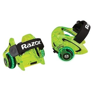 Razor 25056196 Jetts DLX Heel Wheels, Neon Green