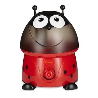 Crane Adorable Ultrasonic Cool Mist Humidifier - Ladybug w/ Filter