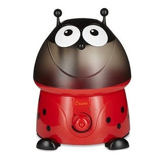 Crane Adorable Ultrasonic Cool Mist Humidifier - Ladybug w/ Filter EE-8247BF