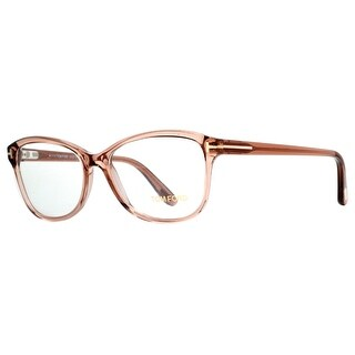 TOM FORD Butterfly TF 5404 Women's 048 Clear Beige Clear Eyeglasses - 53mm-15mm-140mm