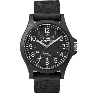 Timex Expedition Metal Fabric Band Watch - Black