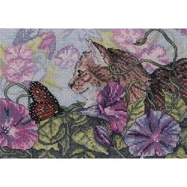 Bucilla Heirloom Collection Glorious Morning Counted Cross Stitch Kit