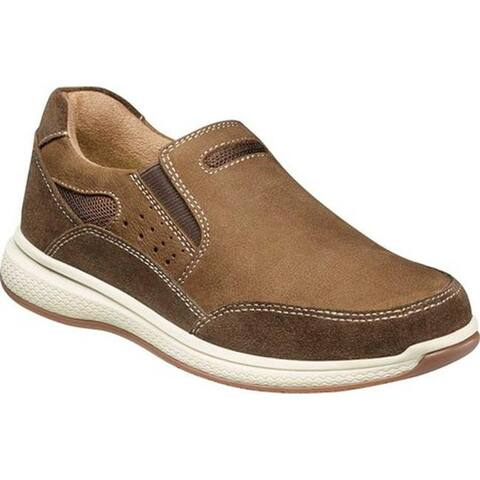 Florsheim Boys' Great Lakes Sport Slip On, Jr. Stone Leather