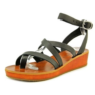 Lucky Brand Honeyy Open Toe Leather Gladiator Sandal