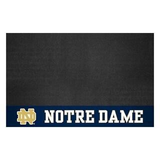 University of Notre Dame Vinyl Grill Mat